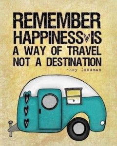 Happiness is travel